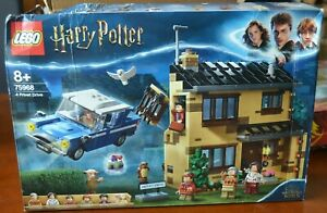 LEGO Harry Potter 75968  -  4 Privet Drive - New & Boxed. Read Listing