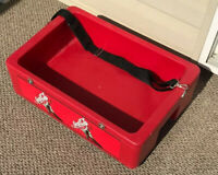 Rare Coca Cola Coke Carrier With Adjust Shoulder Strap Hard Plastic Rare Caddy