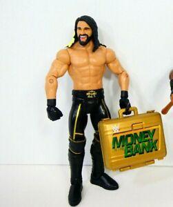 2017 Mattel WWE BATTLE PACK Fan Central SETH ROLLINS Action Figure