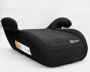 MYCHILD Button Booster Seat - Solid Black (Exclusive Colour)