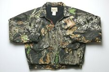 Woolrich Mens Camouflage Zip Jacket Size Large Insulated Polyester Hand Pockets