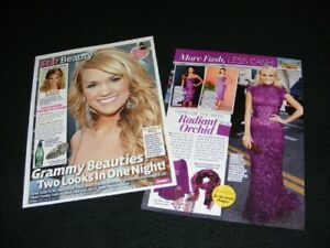 CARRIE UNDERWOOD magazine clippings
