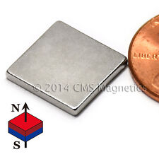 "Grade N45 Neodymium Magnet 1/2x1/2x1/16"" Rare Earth Magnet 500 PC"