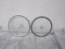 """ruote vintage corsa  28""""   eroica  wheels  bici bike road Shimano 600 tricolor"""