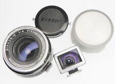 Nikon RF 2.1cm f4   #621196  .............  Extremely Rare !!!