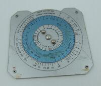 RL Vintage USSR Russian Radiation Dosimetric Nuclear Circular Slide Rule