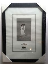 6x Black Photo Frames A3 Plastic Certificate Picture Glass Frame Bulk Lots