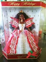 Barbie Black African American Happy Holidays Special Edition 1997 Original Box