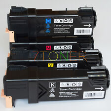 4 x Toner For Xerox Phaser 6500 Xerox WorkCentre 6505   106R01601 ~ 106R01604
