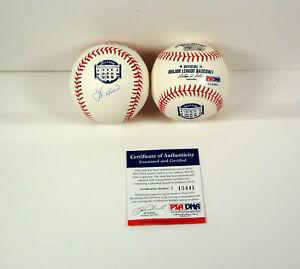 Yogi Berra Signed Autograph NY Yankees Final Season MLB Baseball PSA/DNA COA