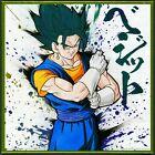 Dragon Ball Super Shikishi Art Board Metallic Extreme Saiyan Vegeto Vegito Blue