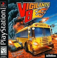 Vigilante 8 (Sony PlayStation 1, 1998) #S05 DISC ONLY!
