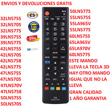 AKB73715601 Mando Sustituto TV LG 42LN575S , 47LN575S ,  55LN575S , 50LN575S