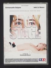 NEUF DVD BACKSTAGE BERCOT EMMANUELLE SEIGNER ISILD LE BESCO univers showbusiness
