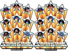 WWF Superstars Upright Arcade cabinet decal set