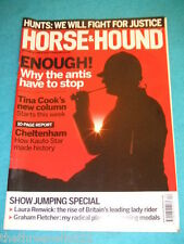 HORSE & HOUND - THE ANTIS HAVE TO STOP - MARCH 19 2009