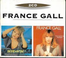 COFFRET 2 CD FRANCE GALL 2 CD ORIGINAUX DÉBRANCHE / TOUT POUR LA MUSIQUE NEUF