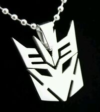 Transformers Metal Dog Tag Chain Collectible Necklace Pendant Charm Gift Present