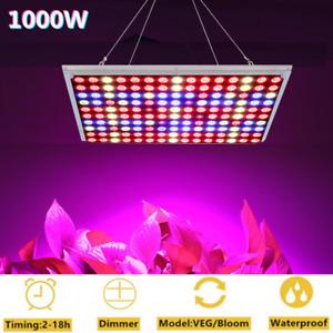 1000W LED Grow Light Full Spectrum for Hydroponic Veg Flower Indoor Plants Lamp