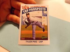 2013 Choice Midwest League Top Prospects  Baseball Card  #09 Tyler Pike