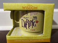 Disney Wisdom Beauty and the Beast Lumiere Mug Limited Release 6/12 New