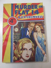 Murder in Flat 14 by A.G.E. Cromwell Rare Fiction Mellifont Press London