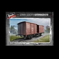 1/35 Gedeckter Guterwagen G10 German Boxcar WWII Thunder Model 35901