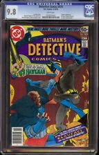 Detective Comics # 479 CGC 9.8 White (DC, 1978) Clayface appearance