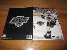 "1994 Starline WAYNE GRETZKY No. 99 LOS ANGELES KINGS 9"" x 12"" Folder"