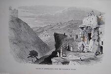 Original-Holzschnitte (1800-1899) aus Asien mit Landschaftsmotiven