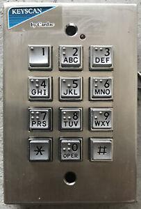 Keyscan ACCESS CONTROL SYSTEM WSSKP-1 CARDAC WEIGAND KEYPAD USED