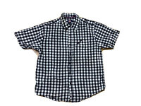 Dickies Authentic Mens Size XL Button Up Checked Shirt Short Sleeves