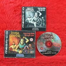 Sega Mega CD ETERNAL CHAMPIONS Challenge From the Dark Side Drive PAL UK Version