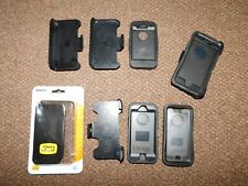 iPhone Black Otter Box Lot: Hard Cases & Clip-on Holders for  iPhone 4, 5, 6