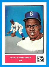 JACKIE ROBINSON 1984 Sports Design Products Doug West Set (ex) Brooklyn Dodgers