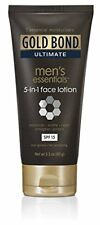 Gold Bond Ultimate Men's Essentials 5-in-1 Face Lotion 3.3oz Each