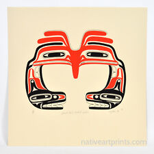 Makah American Indian 1986 John Nytom Silkscreen Print Edition of 80 Signed