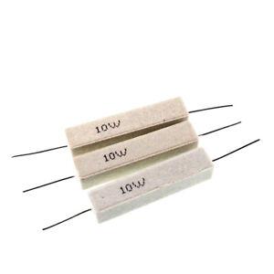 10W Cement Resistor 5% 1R 2R 3R 10R 20R 47R 1K 2K 10K 0.22R 0.1R