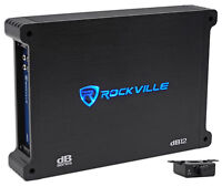 Rockville dB12 2000 Watt/1000w RMS Mono Class D 2 Ohm Amplifier Car Audio Amp