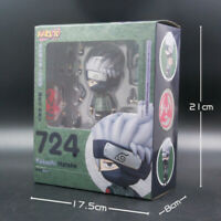 Hot 10cm Naruto Shippuden Hatake Kakashi Nendoroid Anime Action Figure PVC Model