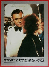 JAMES BOND - DIAMONDS ARE FOREVER - Card #83 - BEHIND THE SCENES - Eclipse 1993