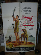 ISLAND OF THE BLUE DOLPHINS, orig 1-sh / movie poster () - 1964