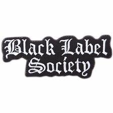 BLS Black Label Society Rock Heavy Metal Death Black Music Iron-On Patch #M0213