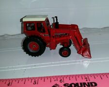 1/64 ERTL custom ih international 966 black stripe tractor with loader farm toy