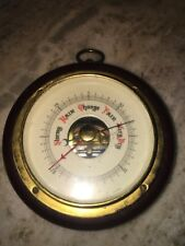 Rare Antique Hanging Barometer By Fee And Stemwedel