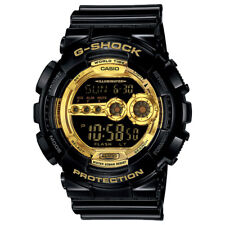 Casio GD-100GB-1 Mens Gold Dial Analog And Digital Quartz Watch with Resin Strap