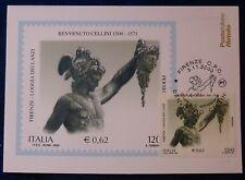FDC - MAXICARD ARTE - BENEVENTO - CELLINI LOGGIA LANZI - 2000