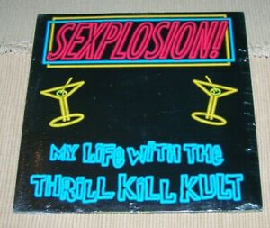 My Life with the Thrill Kill Kult Explosion 12-inch single sealed Wax Trax 1991