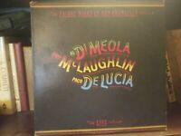 Al Di Meola, McLaughlin & De Lucia–Friday Night In San Francisco col37152 Vinyl