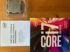 Intel Core i7 6850K CPU 3.6GHZ
